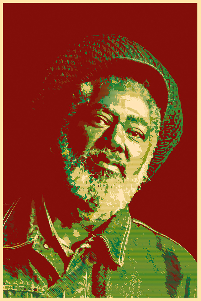JOHNNY CLARKE-RED GOLD GREEN